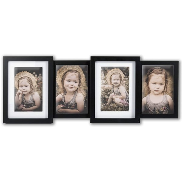 Jerry & Maggie - Photo Frame 22x8 Bar Shape Black PVC Picture Frame