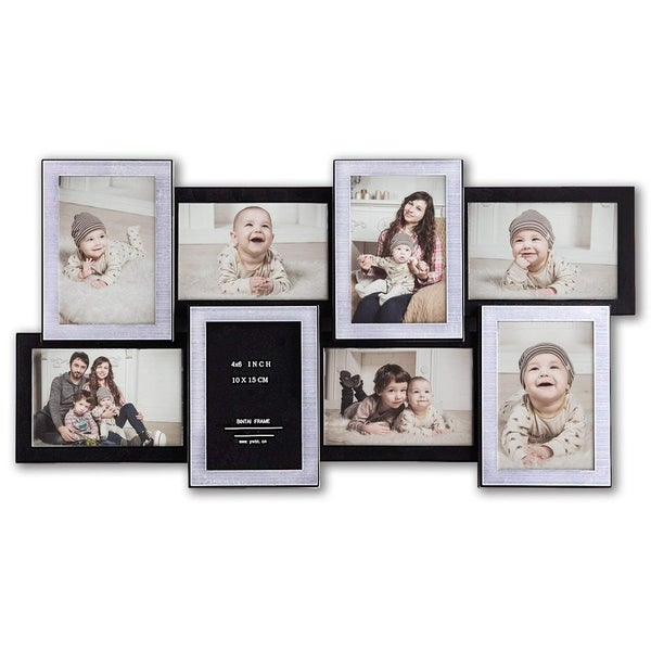 Jerry & Maggie - Photo Frame 23x11 Black & Sliver Bar Shape Picture Frame