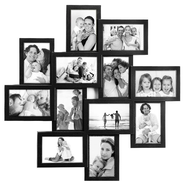Photo Frame Square White PVC Collage Picture Frame Selfie Gallery wall hanging
