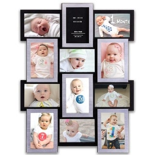 Jerry & Maggie - Photo Frame 23x18 Black & Silver 12 Units Max Picture Frame