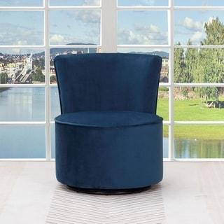 Sally Velvet Upholstered Armless Living Room Chair