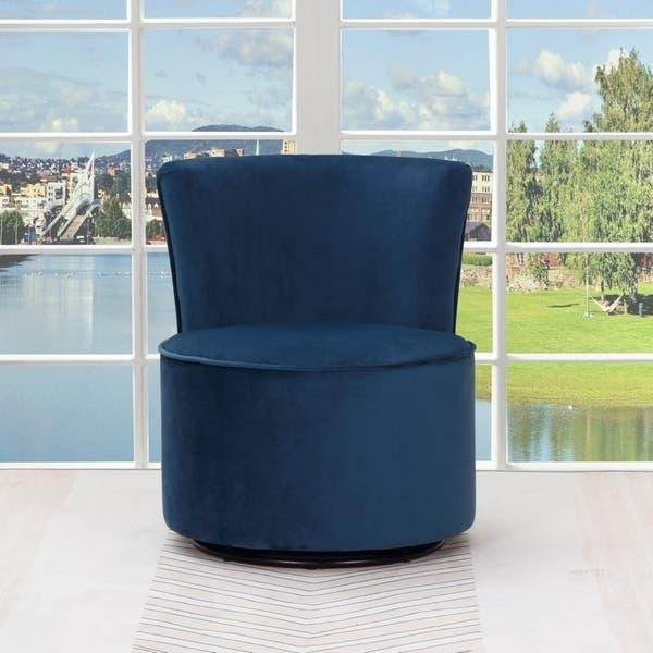 Enjoyable Shop Sally Velvet Upholstered Armless Living Room Chair Dailytribune Chair Design For Home Dailytribuneorg
