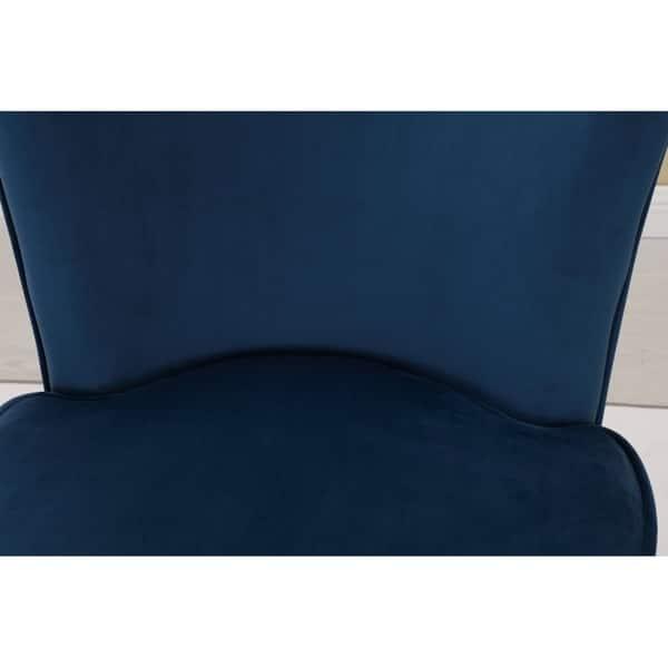 Marvelous Shop Sally Velvet Upholstered Armless Living Room Chair Dailytribune Chair Design For Home Dailytribuneorg