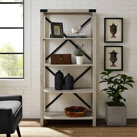 cf315645044f Buy White, Farmhouse Bookshelves & Bookcases Online at Overstock ...