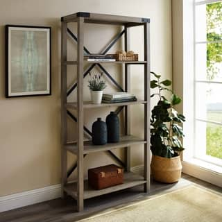 741bebd00203 Buy White, Metal Bookshelves & Bookcases Online at Overstock | Our Best  Living Room Furniture Deals