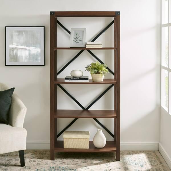 Gray Barn Kujawa 64 Inch Tall Bookshelf