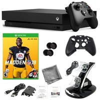 Xbox One X 1TB Console with Madden NFL 19 and Kit