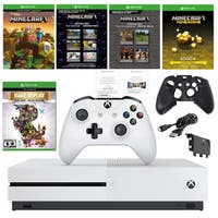 Xbox One S 1TB Minecraft Console with Rare Replay and Accessories