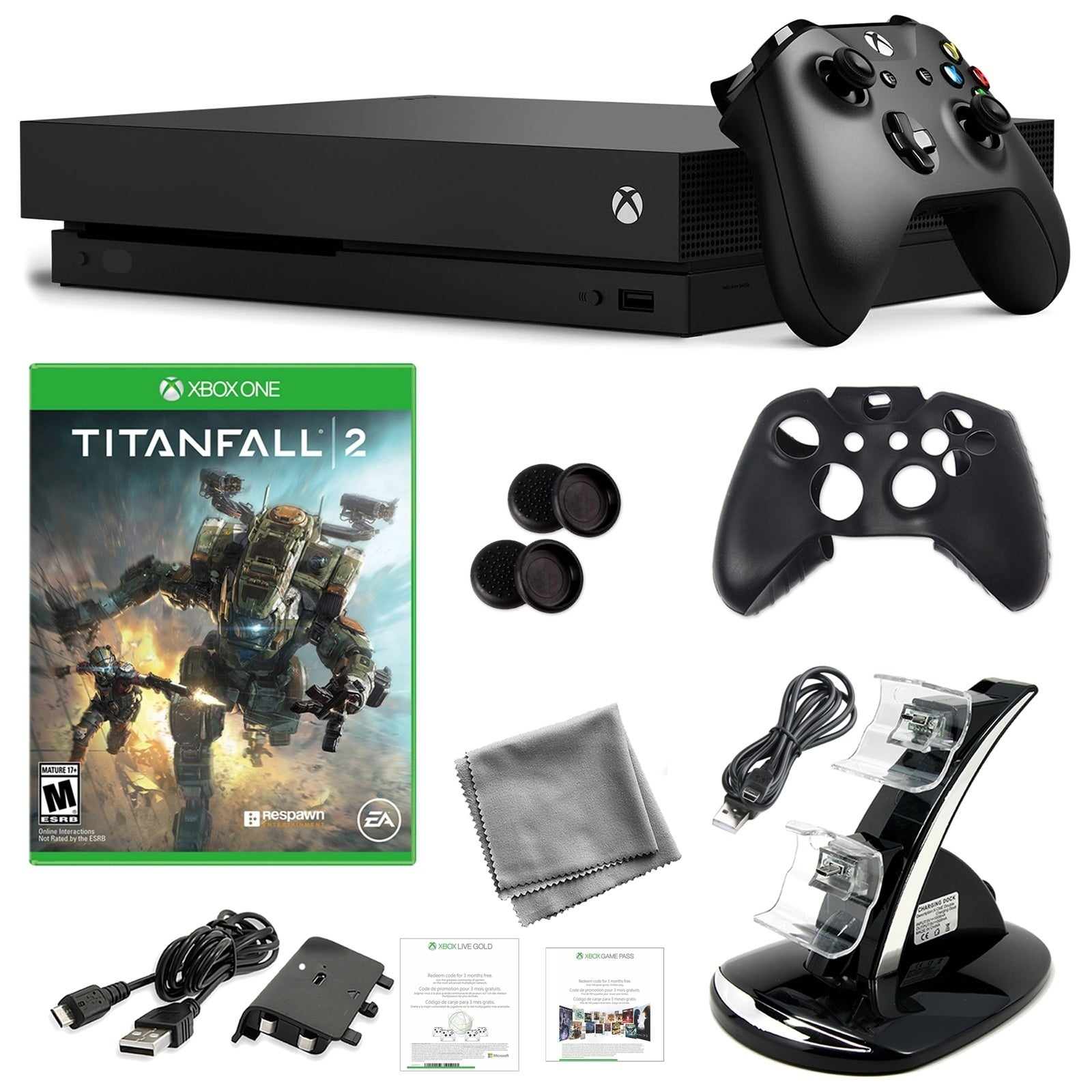 Xbox One X 1TB Console with Titanfall 2 and Kit - N/A - N/A