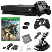 Xbox One X 1TB Console with Titanfall 2 and Kit