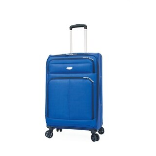 "Samboro 24"" Expandable Spinner Trolley - Blue Color"
