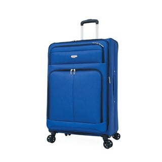 """Samboro 28"""" Expandable Spinner Trolley - Blue Color"""