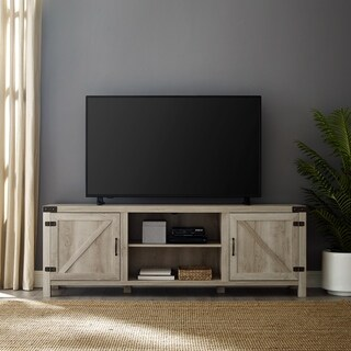 """70"""" Barn Door TV Stand Console - 70 x 16 x 24h"""
