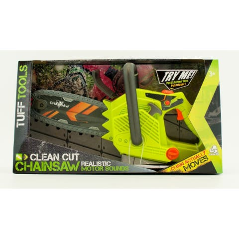 Lanard Tuff Tools Clean Cut Toy Chainsaw