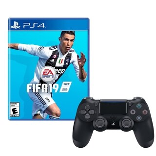 FIFA 19 and DualShock 4 Wireless Controller