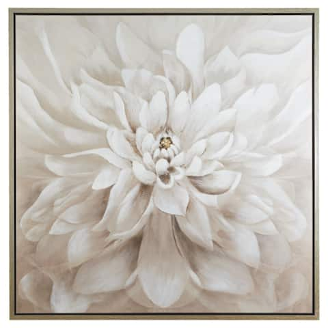 Jalisa Contemporary Taupe Wall Art
