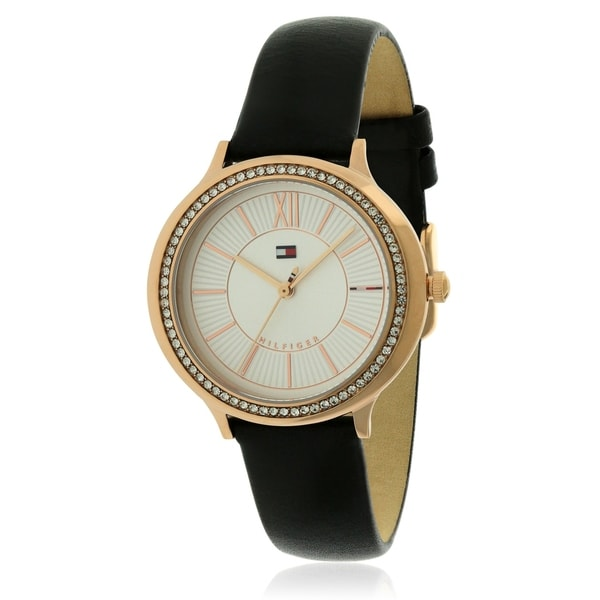 b6841ce58 Shop Tommy Hilfiger Leather Ladies Watch 1781853 - Free Shipping ...