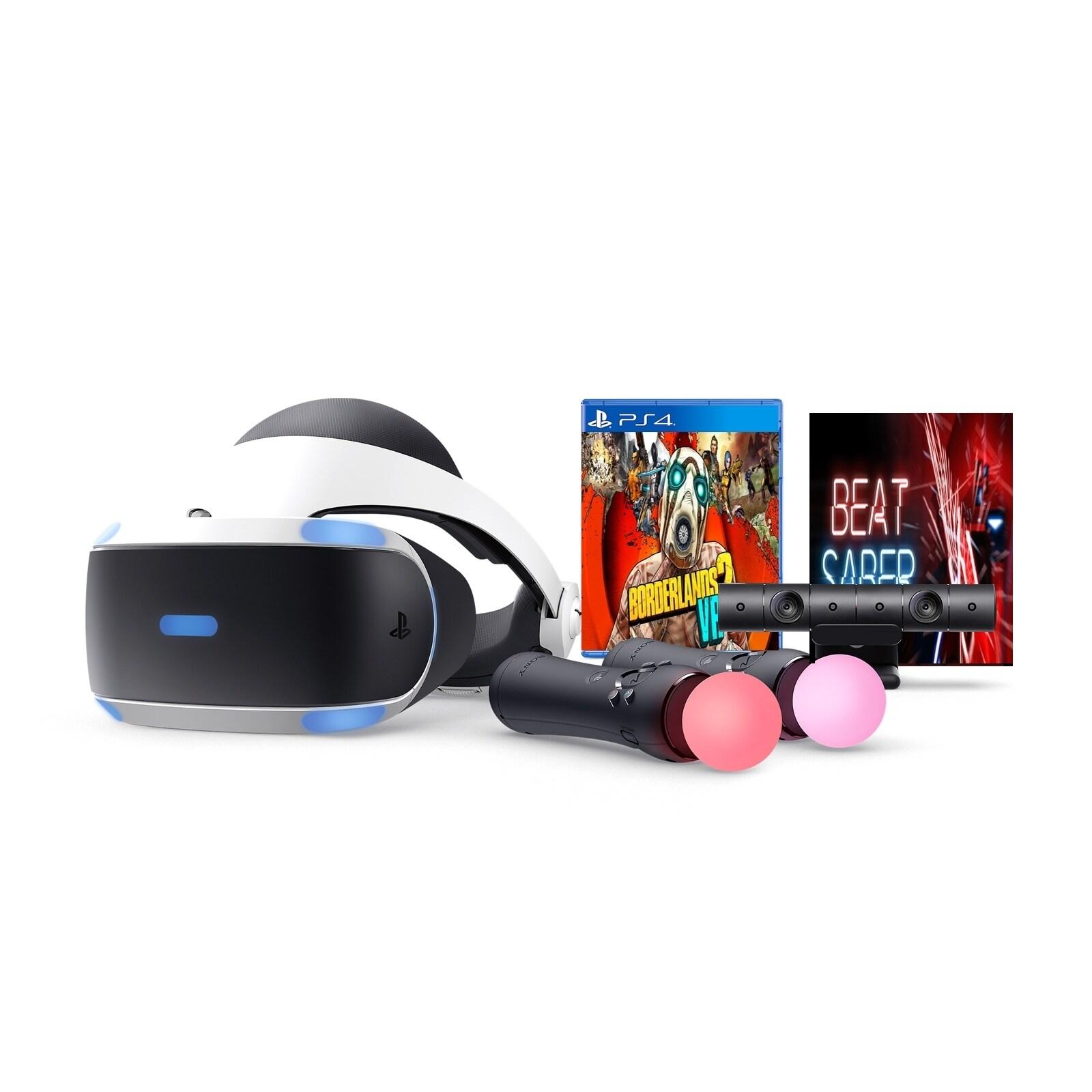 Playstation Vr Borderlands 2 Vr And Beat Saber Bundle Overstock 25482973