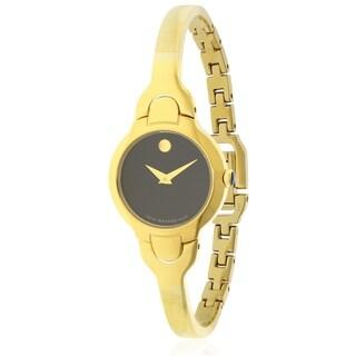 Movado Kara Yelow Gold PVD Ladies Watch 0606936