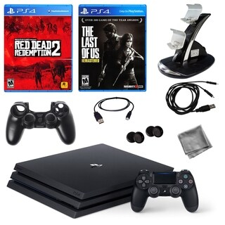 PlayStation 4 Pro 1TB Console with Red Dead Redemption 2, LoU + Access