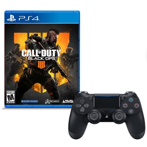 Call of Duty Black Ops 4 and DualShock 4 Wireless Controller