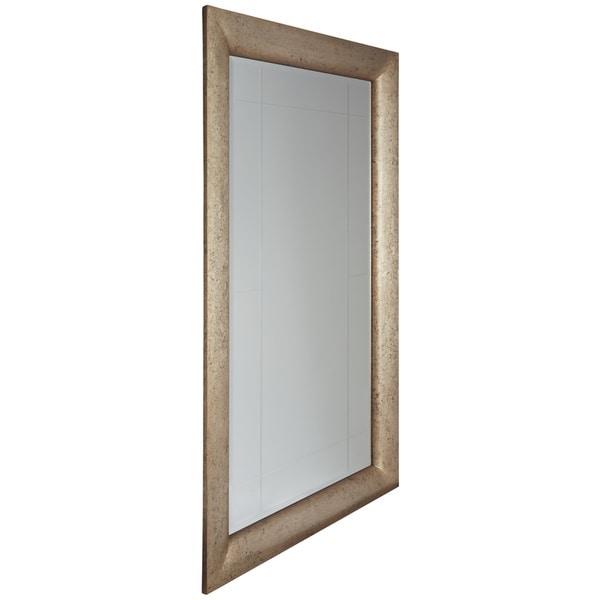 Evynne Floor Mirror - Antique Gold