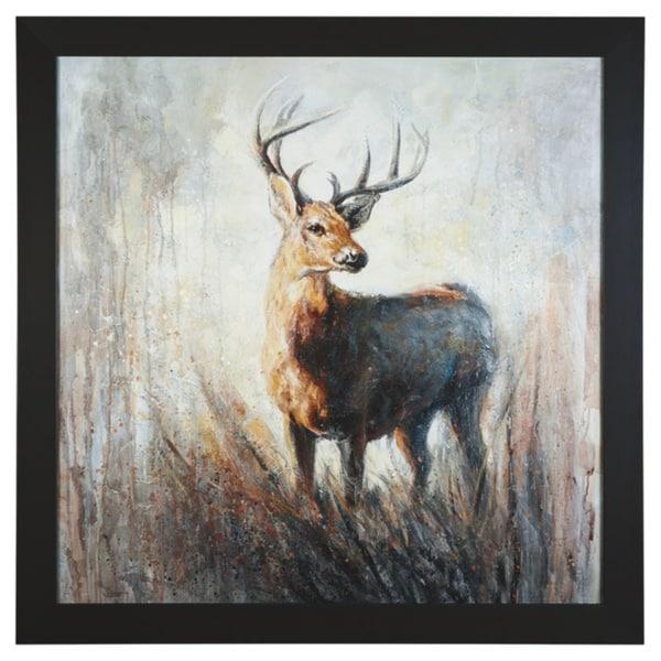 Jamison Contemporary Deer Wall Art
