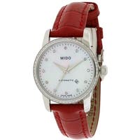 Mido Baroncelli Leather Automatic Ladies Watch M7602.4.69.7