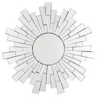 Braylon Contemporary Accent Mirror - Silver - N/A