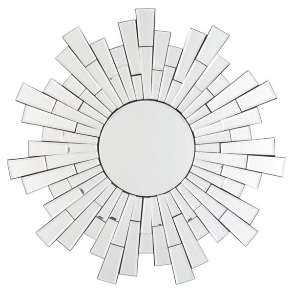 Braylon Contemporary Accent Mirror - Silver
