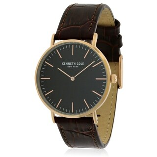 Kenneth Cole Leather Mens Watch KC50507003