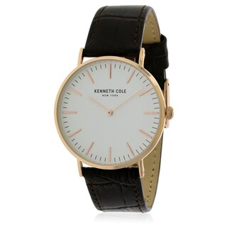 Kenneth Cole Leather Mens Watch KC50507002