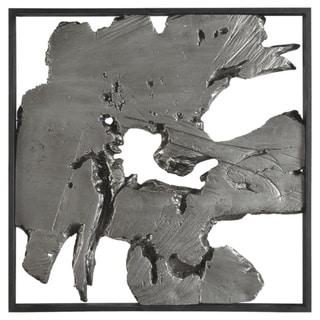 Fabiana Contemporary Black/Silver Wall Decor