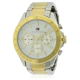 Tommy Hilfiger Sophisticated Sport Two-Tone Chronograph Mens Watch 1791226