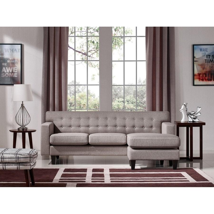 Samuel Design Divani.Divani Casa Tawny Modern Fabric Sofa Ottoman Set
