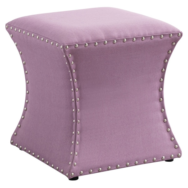 Fantastic Porch Den Decora Purple Ottoman Dailytribune Chair Design For Home Dailytribuneorg
