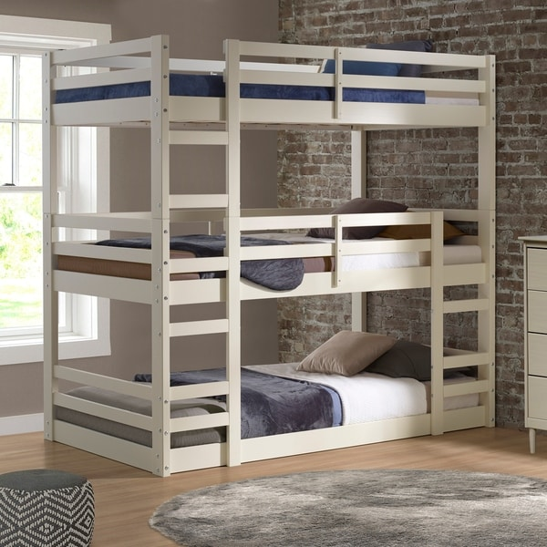 Shop Twin Triple Bunk Bed On Sale Free Shipping Today