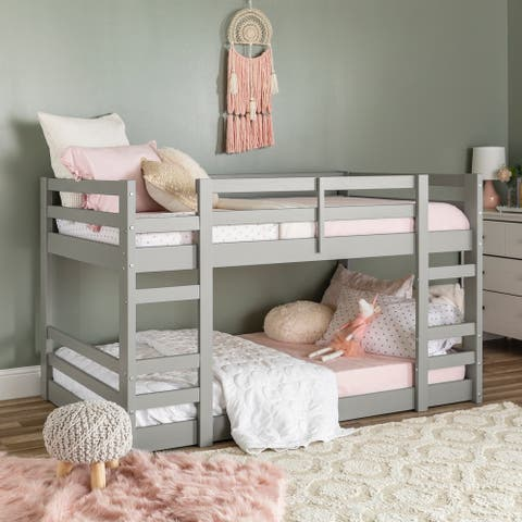 Taylor & Olive Browning Twin Size Low Bunk Bed