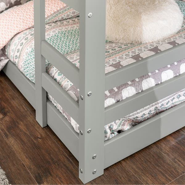 Shop Taylor Olive Browning Twin Size Low Bunk Bed On Sale