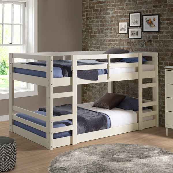 Shop Twin Low Bunk Bed On Sale Free Shipping Today Overstock