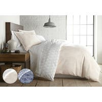 Abstract Haze Reversible Duvet Cover and Sham Set