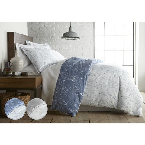 Vilano Choice Premium Ultra-Soft Modern Foliage Duvet Cover and Sham Set