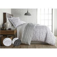 Whimsical Swirls Reversible Duvet Cover and Sham Set