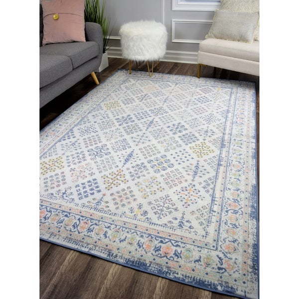 The Curated Nomad Ingleside Ivory Vintage Transitional Rug