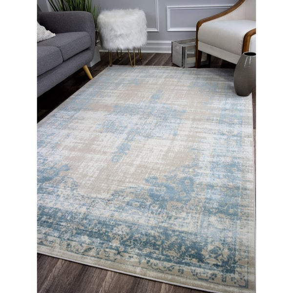 Maxwell Vintage Transitional Rug Royal