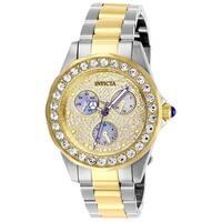 Invicta Women's Angel 28459 Stainless Steel, Gold Watch