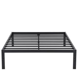 Sleeplanner 14 Inch New Dura Metal Steel Slated Bed Frame King Size 14BX10K