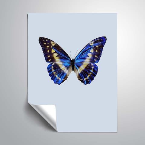 ArtWall 'Blue Butterfly' Removable Wall Art Mural
