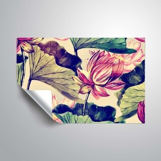 ArtWall 'Water Lily' Removable Wall Art Mural