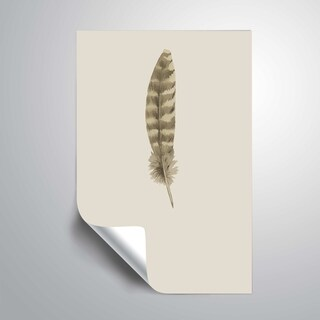 ArtWall 'Feather 07' Removable Wall Art Mural